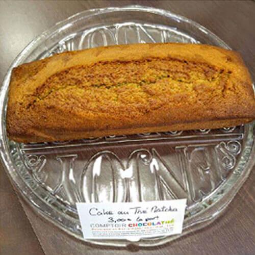 Cake-Thé-Matcha-HomeMade-ComptoirChocolathé