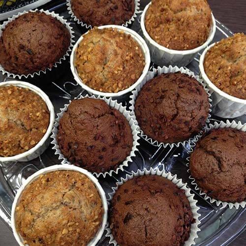 Muffins-Homemade-chocolat-ComptoirChocolathé